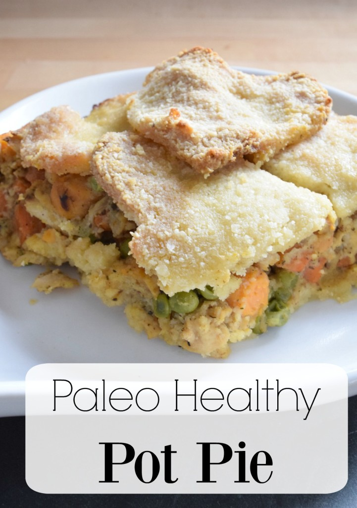healthy paleo pot pie recipe