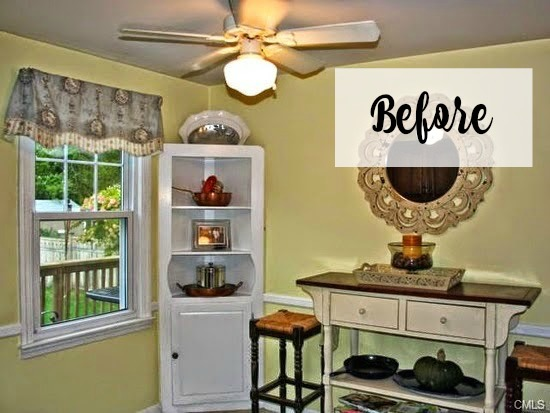 white kitchen remodel before