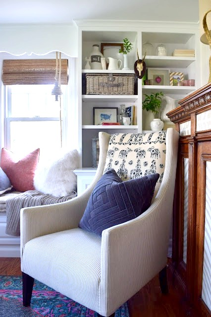 Beach Nautical home tour 15