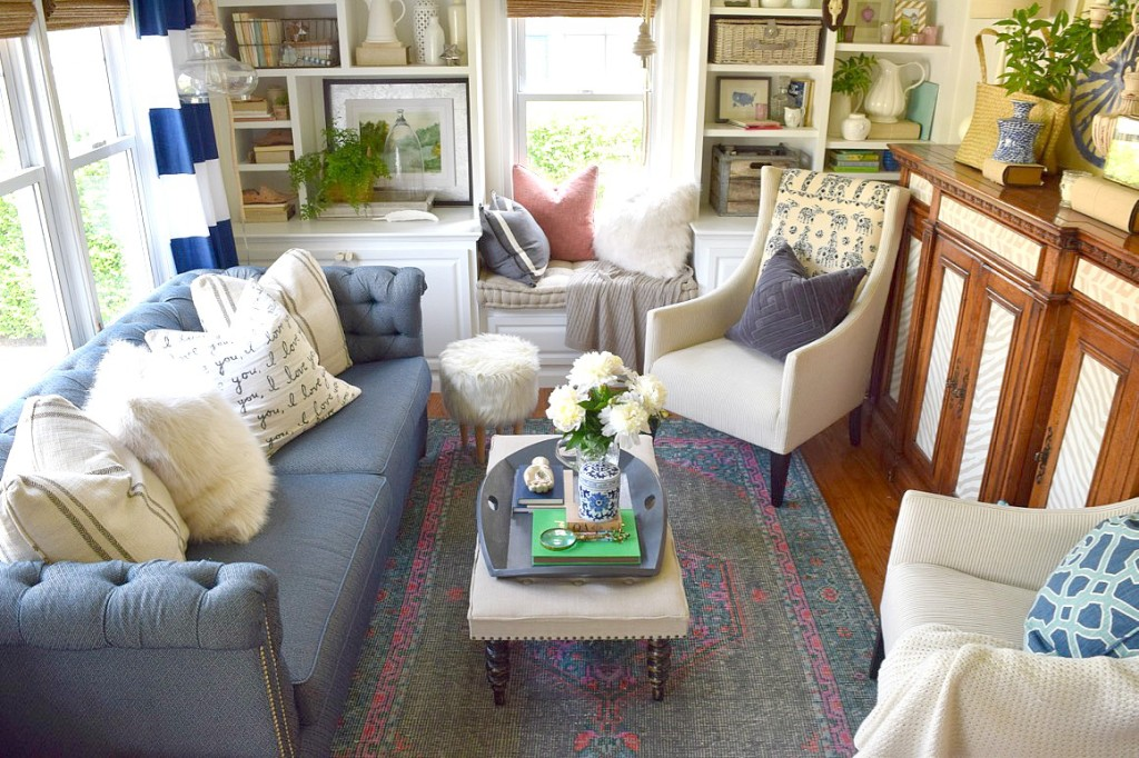 Beach Nautical home tour 21