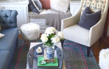 Beach Nautical home tour 25