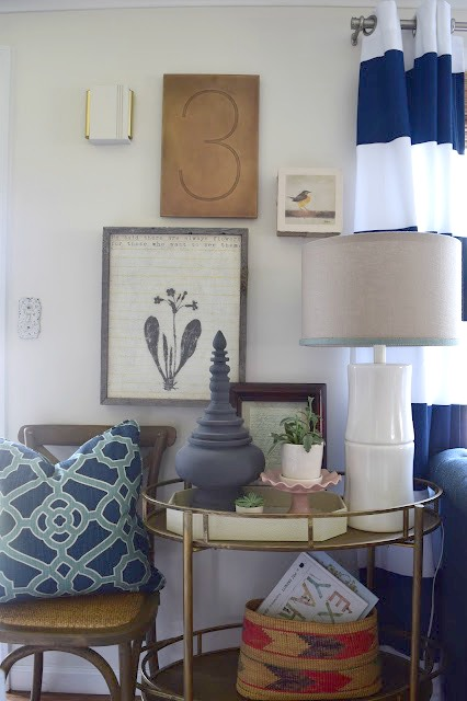 Beach Nautical home tour 5