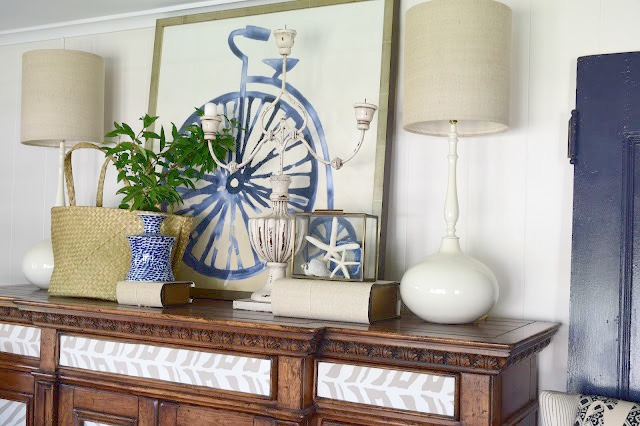 Beach Nautical home tour 7