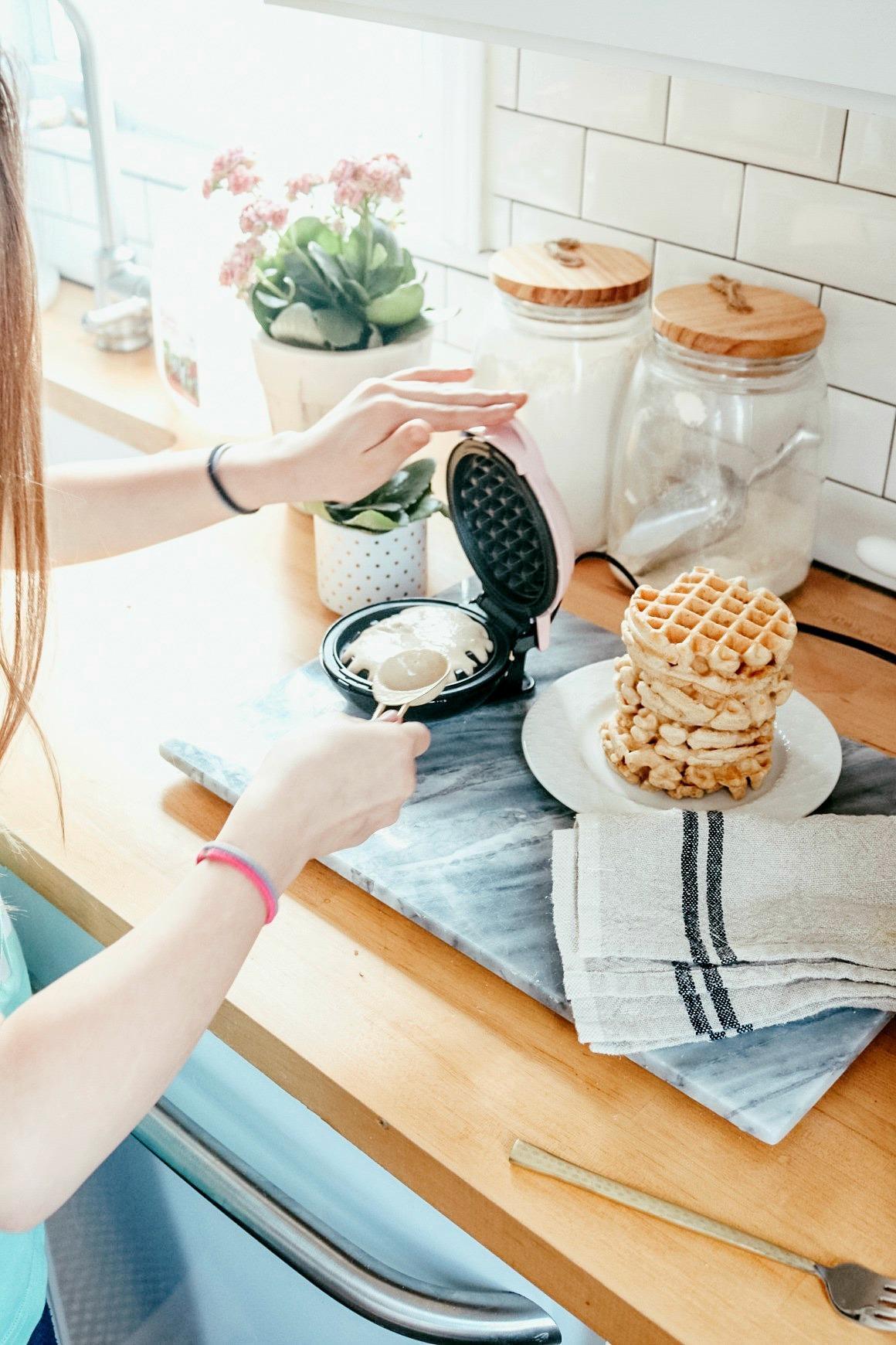 Healthy Paleo Waffles- Keep You Full Longer