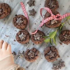 Mint Star Cookie Recipe with Trader Joe Stars