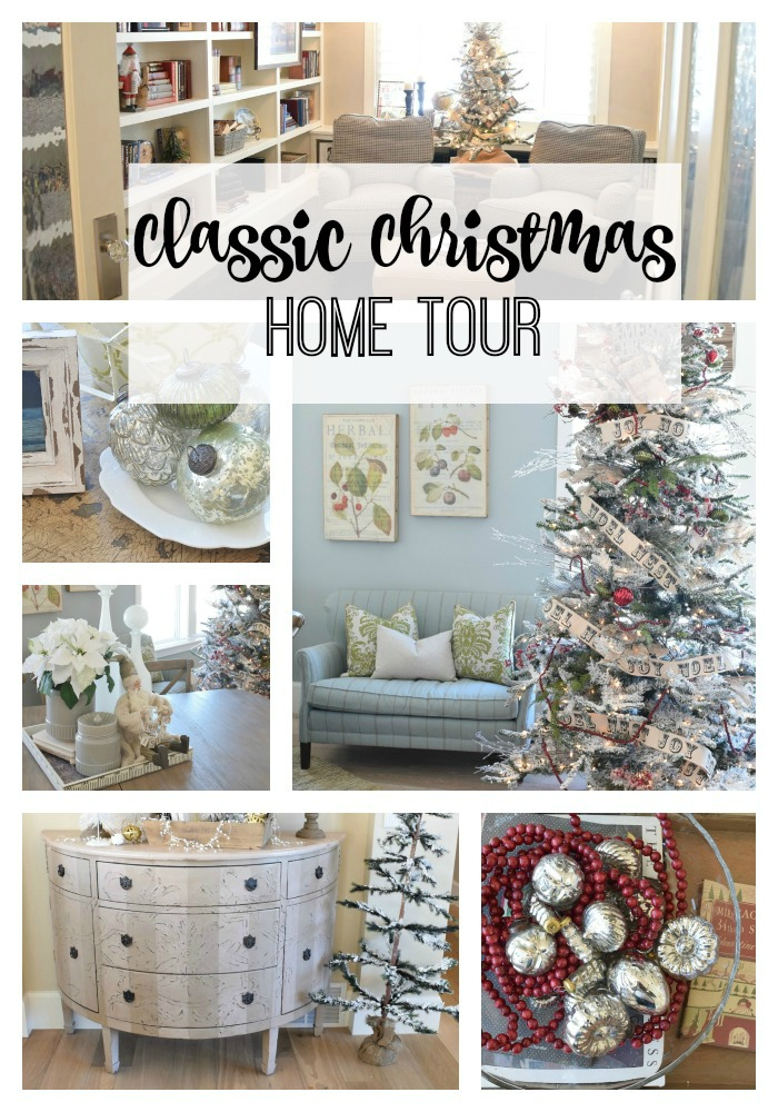 Clients classic christmas home tour nesting with grace for Classic house tour