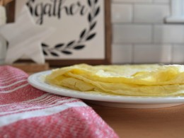Birthday traditions and crepe recipe