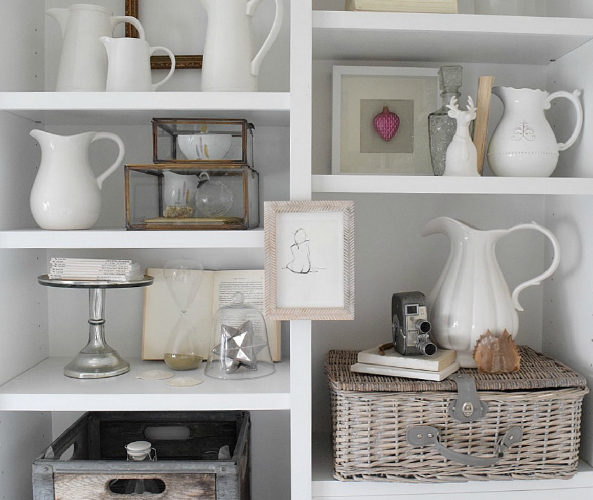 bookcase styling nesting with grace - Styling Bookcases
