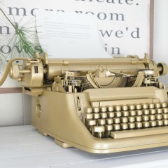 Vintage Typewriter Birthday Gift
