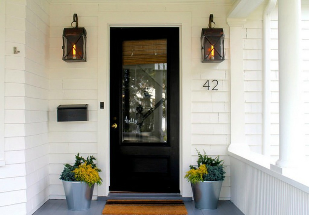 Front Door Inspiration from Design Sponge