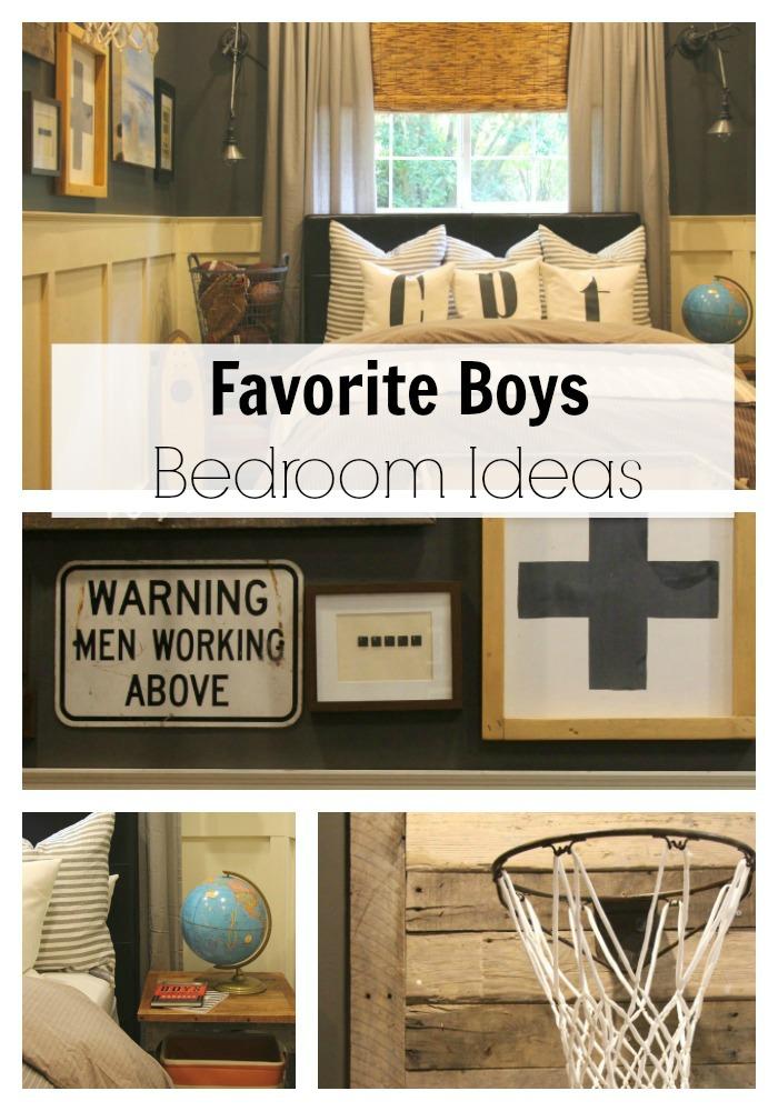 Favorite Boys Bedroom Ideas