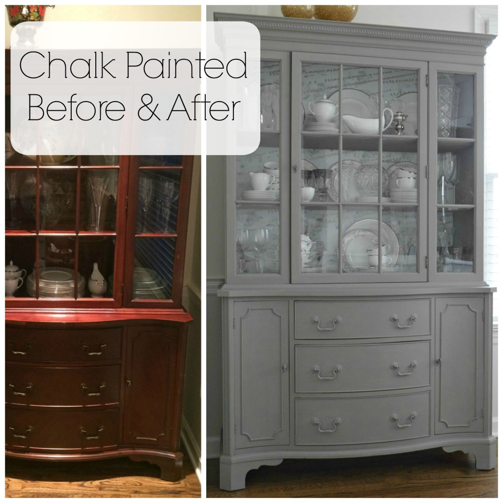 chalk painted tips
