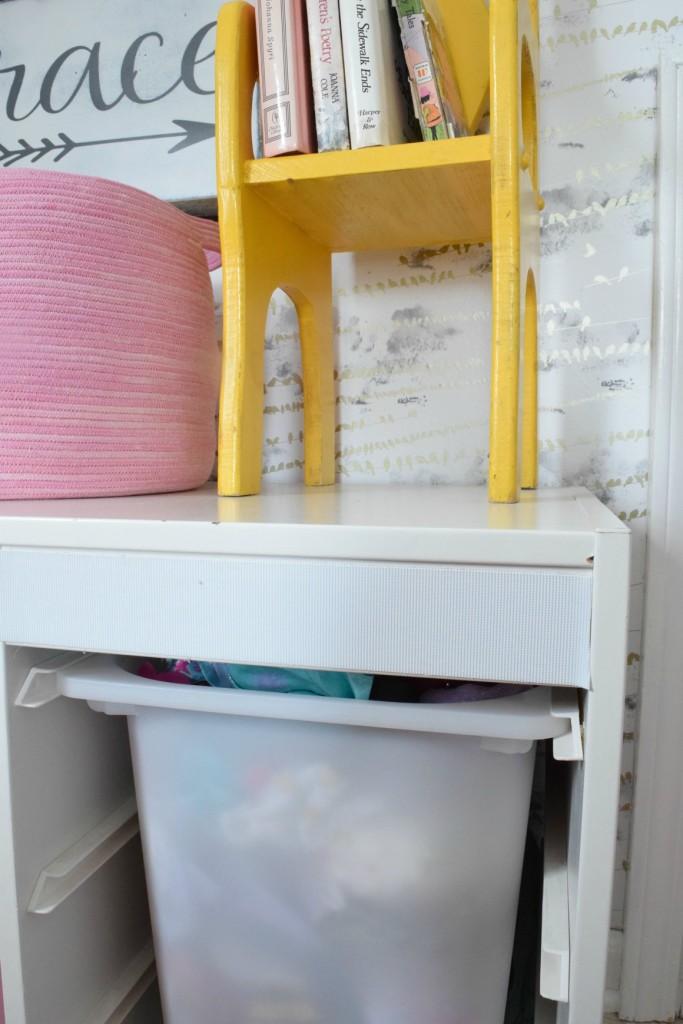 Ikea hack toy bin chest DIY