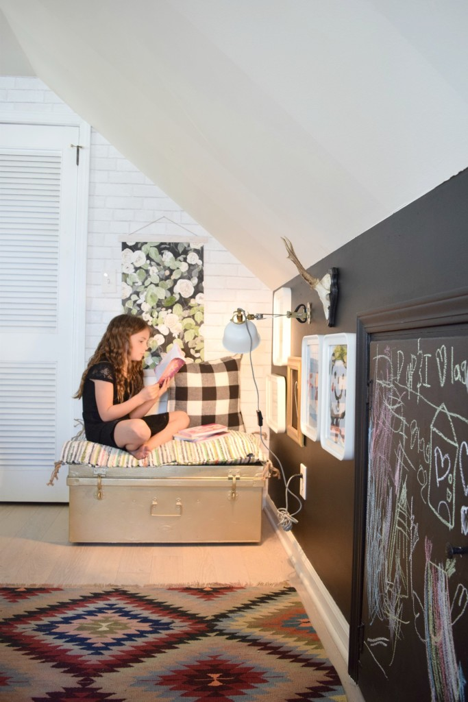 kids space in a tiny house and DIY