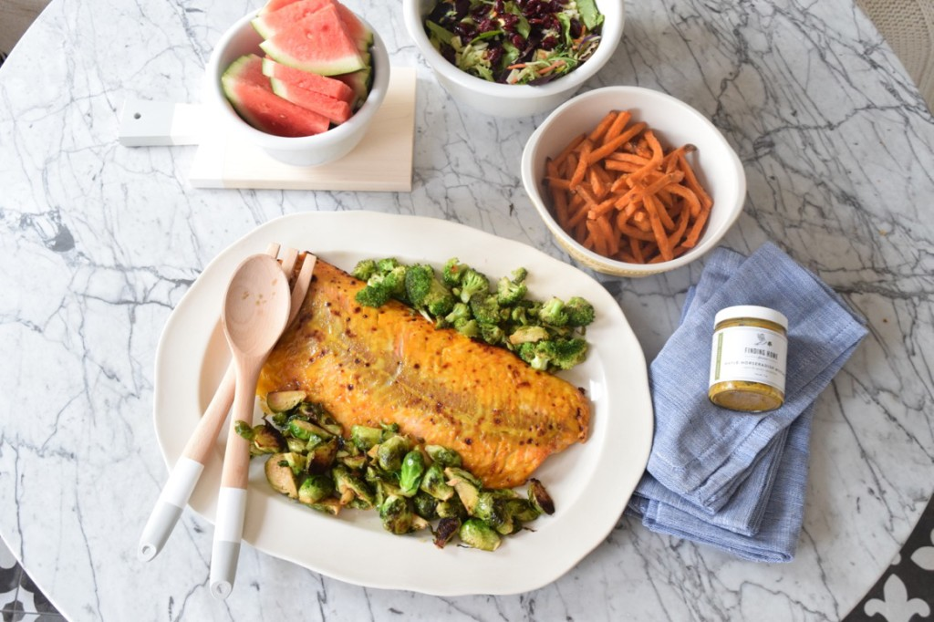 Favorite Healthy Dinner Mustard Salmon Recipe