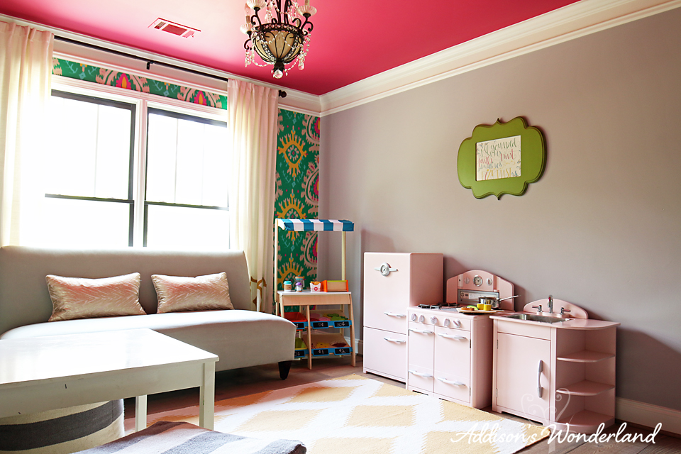 Kids Space Addison Wonderland Colorful Play Room Ideas