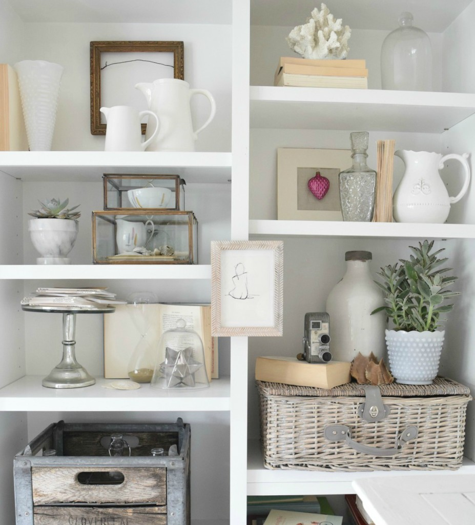 bookcase styling tips nesting with grace 7 - Styling Bookcases