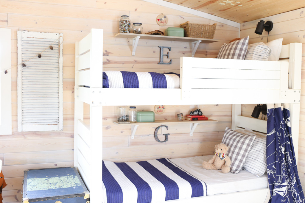 Kids Bunkbed Shared Room Nesting With Grace