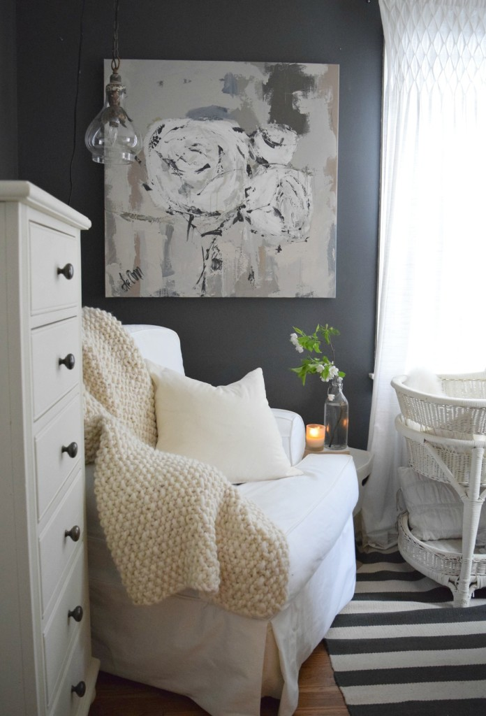 Summer Home Tour Master Bedroom