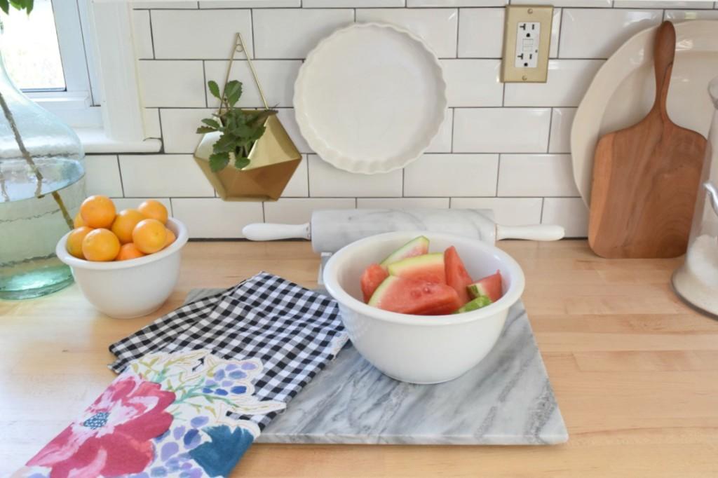 Summer Home Tour Kitchen Updates