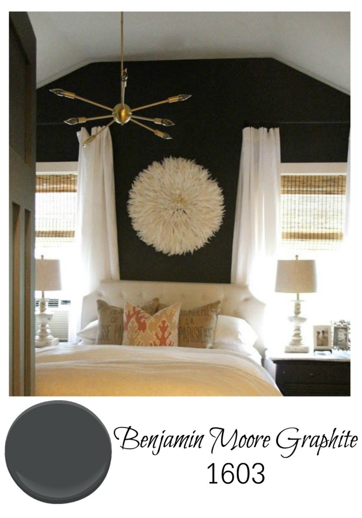 Perfect Best Gray Paint For Bedroom Walls From Benjamin Moore Graphite With