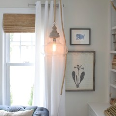 Hanging Pendant Light DIY