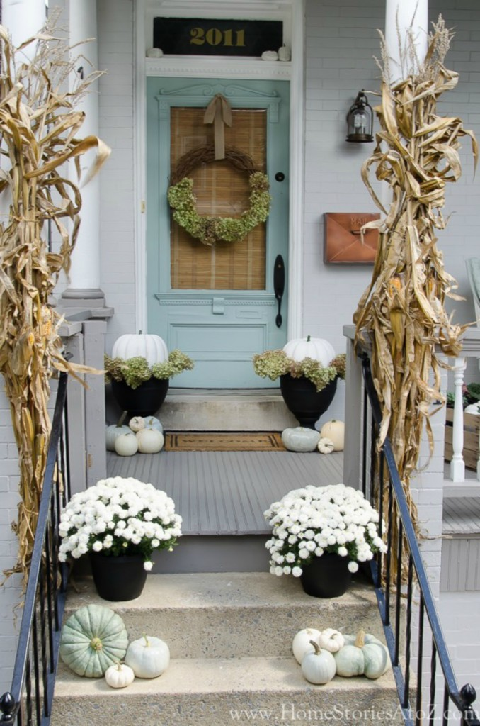 Fall inspiration and fall decor decorating ideas Front Porch