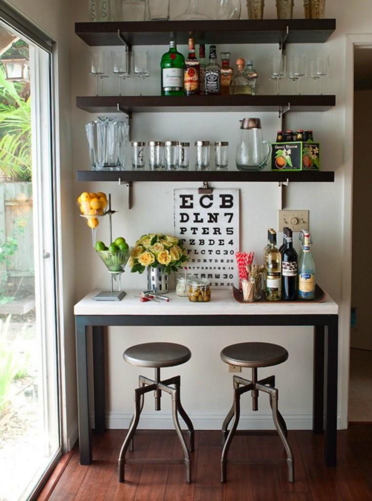 bar cart and tea cart serving station ideas and how to style - How To Style A Bar Cart