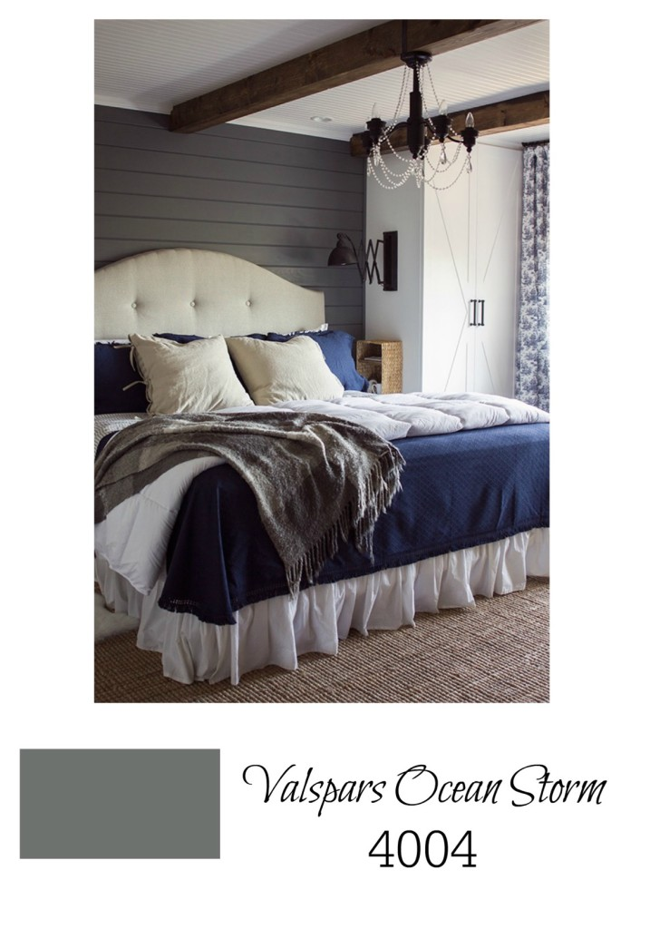 dark bedroom walls nesting with grace 20333 | best gray paint color for master bedroom valspars ocean storm 717x1024