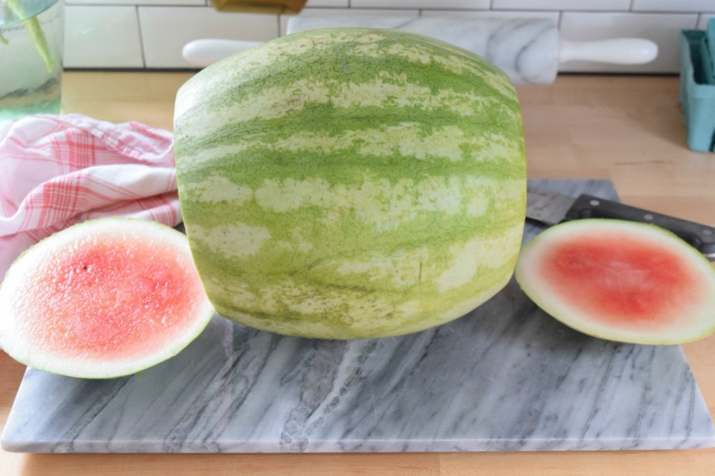 Watermelon Cake for National Watermelon Day - Nesting With Grace
