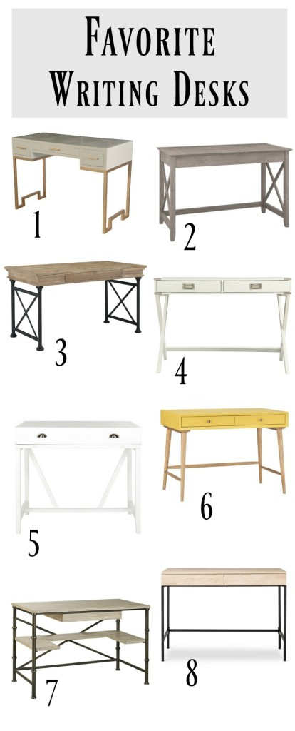 Writing Desk Ideas for any small space