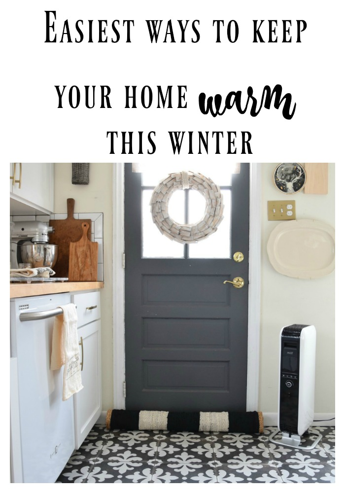 How to Keep the warm in an older home