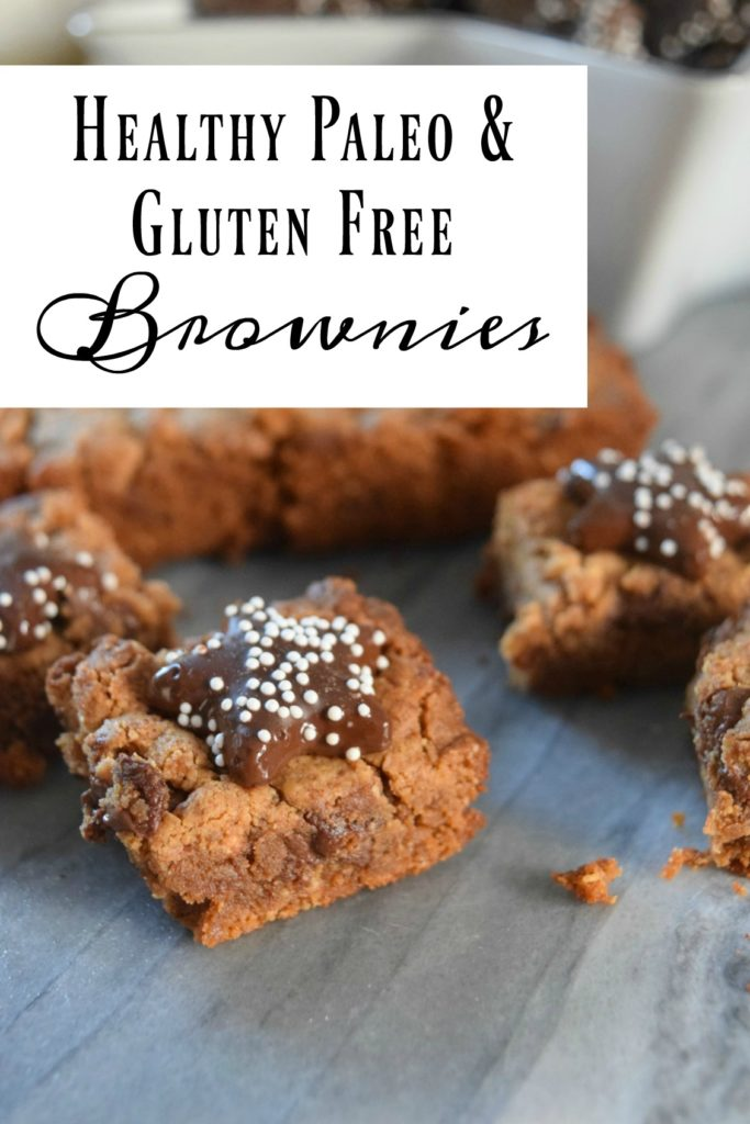Healthy Paleo and Gluten Free Brownies