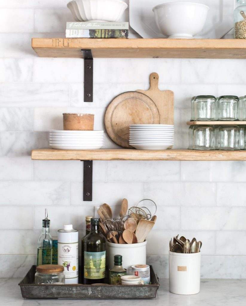 Friday Favorites- Open Shelving and Kitchen Inspiration