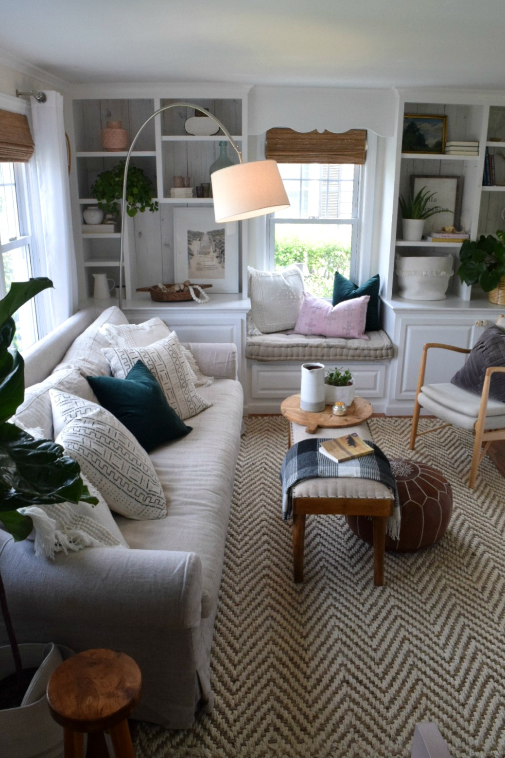 Nesting with Grace- Shop my Home- Living Room