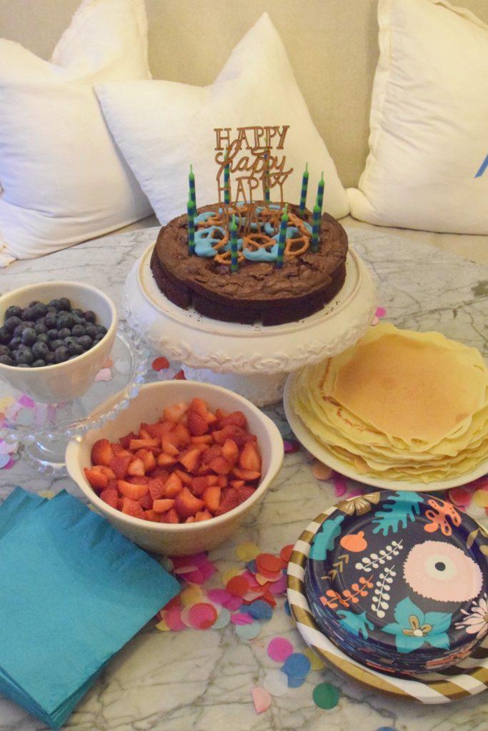 Paint Night- Birthday Party Girl Ideas