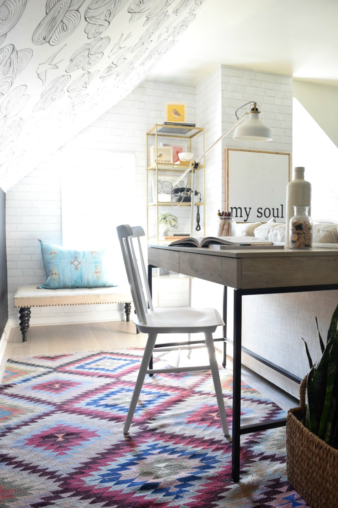 Small Spaces- Writing Desk