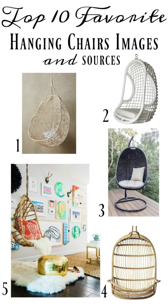 Hanging Chair- 10 Top Hanging Chairs