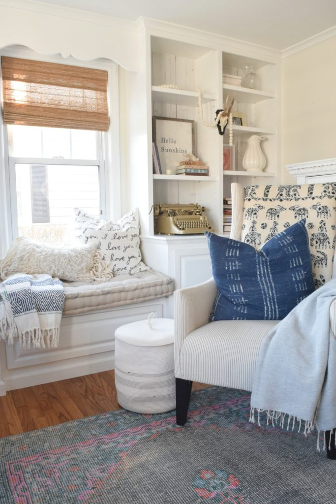Friday Favorites- Home Tour and Home Decor Floor Basket