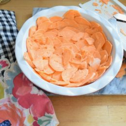 Friday Favorites starts with Sweet Potato Crust