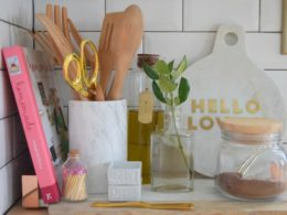 Kitchen Details- What we keep on our kitchen counters 05
