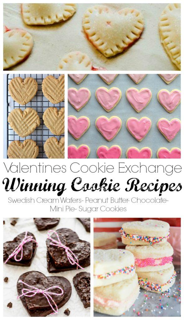 Valentine Day Cookies- Cookie Exchange Top Recipes