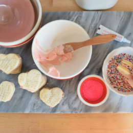 Valentine Day Cookie Exchange- Winner-Swedish Cream Wafers