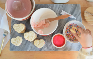 Valentine Day Cookies- Swedish Cream Wafer Recipe