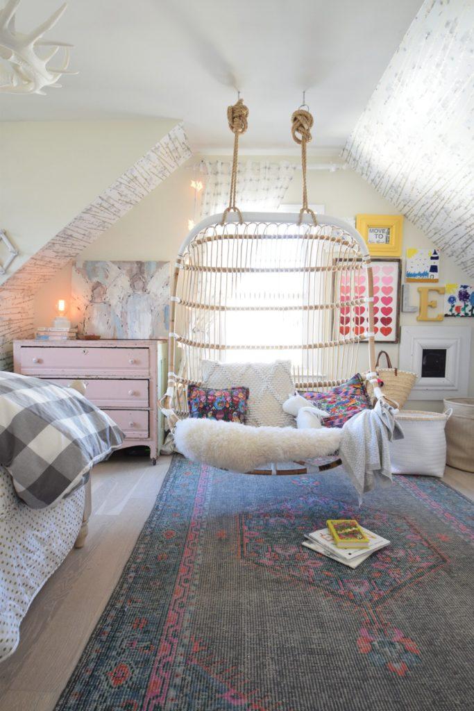 Spring Home Tour- Girls Bedroom Spring Decor Ideas
