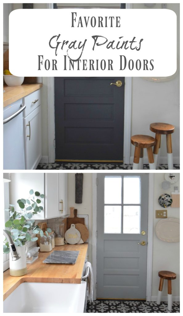 Gray Paints- For Interior Door