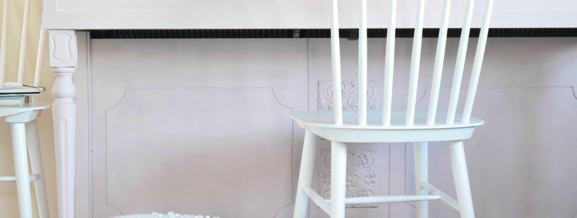 Painted Piano- Soft Pink Update