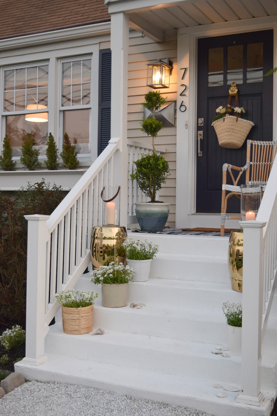 Front porch ideas and designing the outdoors nesting Front veranda decorating ideas