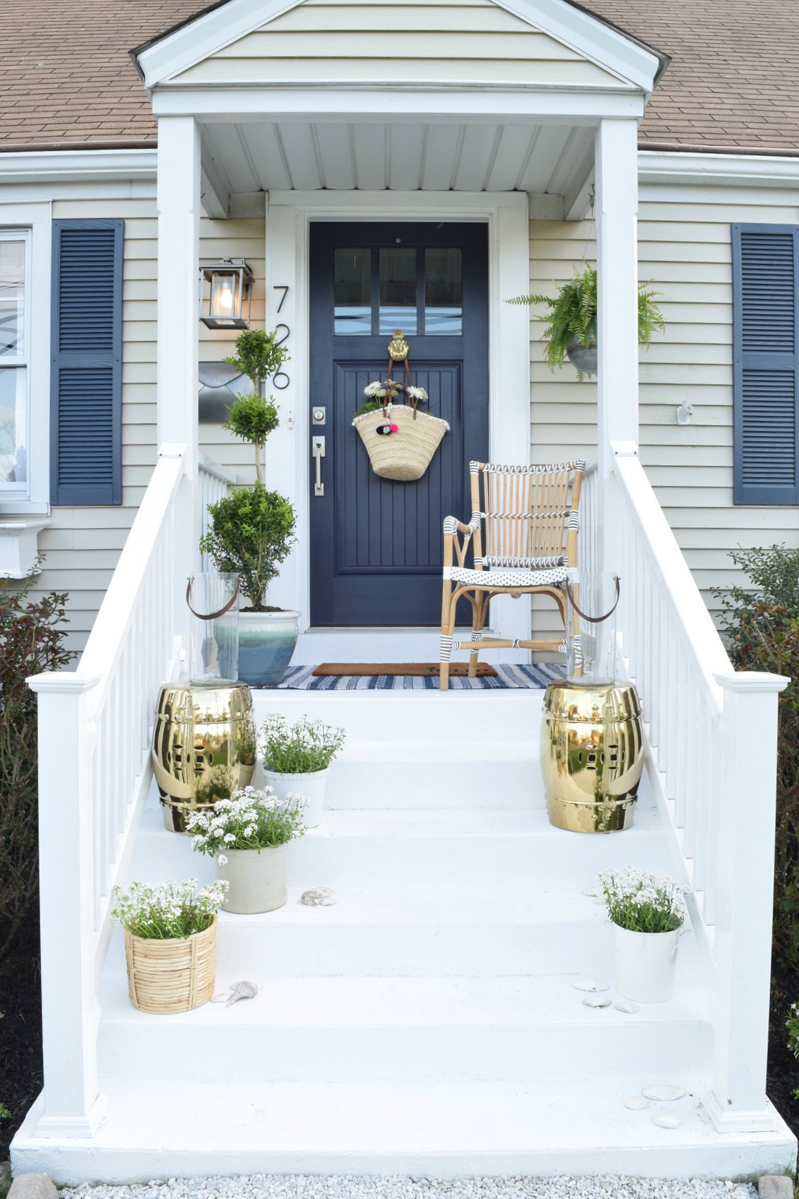 front porch designs curb appeal diy details nesting with grace 11333