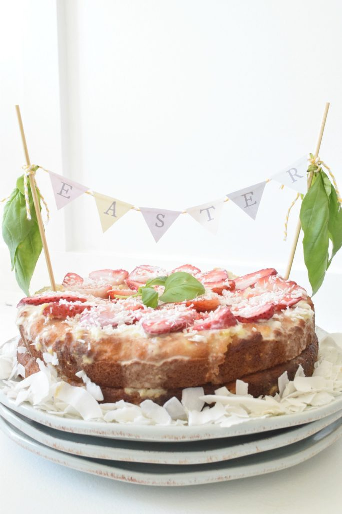 Coconut Pineapple Cake- Paleo and Gluten Free Cake